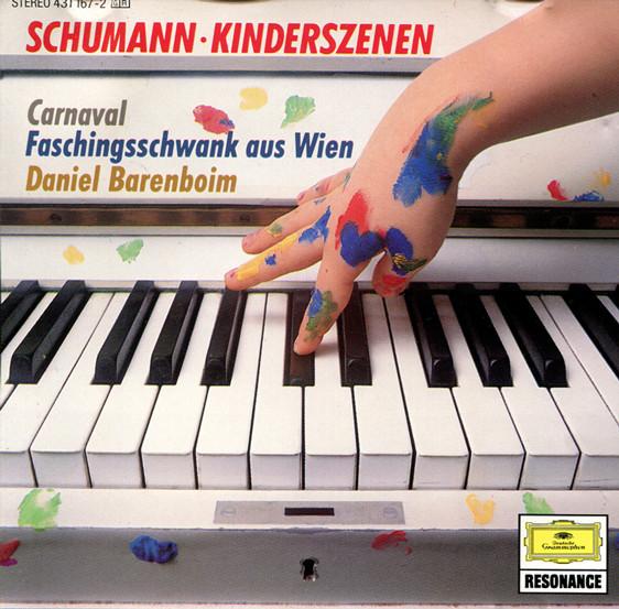 Schumann - Daniel Barenboim Kinderszenen / Faschingsschwank / Aus Wien / Carnaval Vinyl
