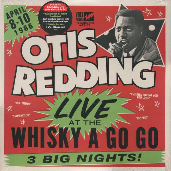 Otis Redding Live At The Whisky A Go Go Vinyl