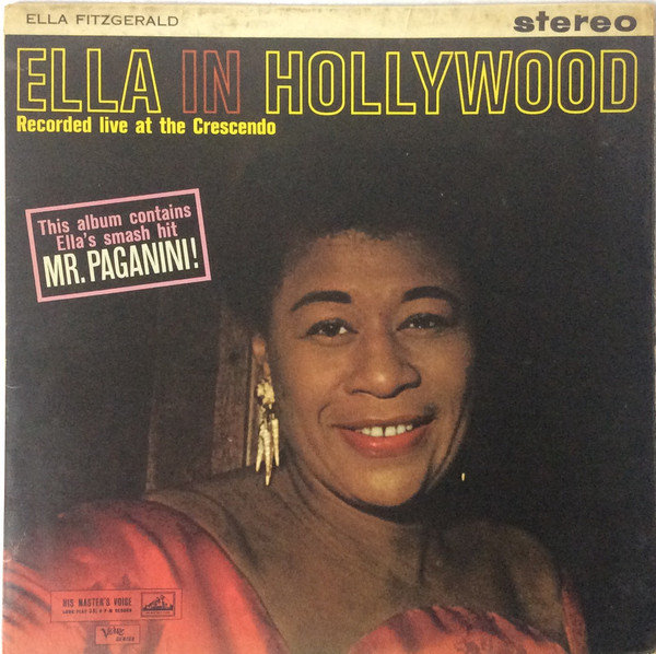 Fitzgerald, Ella Ella In Hollywood Vinyl