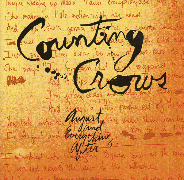Counting Crows August And Everything After CD
