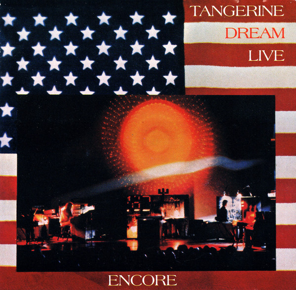 Tangerine Dream Tangerine Dream Live Encore CD