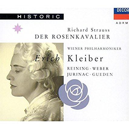 Strauss - Reining, Wiener Philharmoniker, Weber, Jurinac, Gueden, Erich Kleiber Der Rosenkavalier