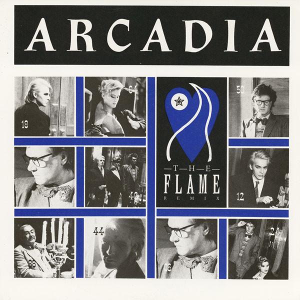 Arcadia The Flame (Remix) Vinyl