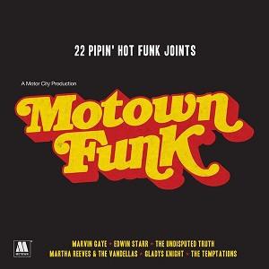 Various Motown Funk - 22 Pipin' Hot Funk Joints