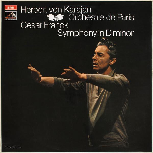 Franck - Herbert von Karajan Symphony in D minor Vinyl