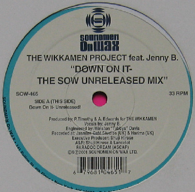 The Wikkamen Project Down On It (The SOW Unreleased Mix)