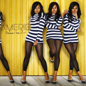 Amerie Because I Love It CD