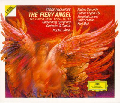 Prokofiev - Göteborgs Symfoniker, Gösta Ohlin's Vocal Ensemble, Pro Musica Chamber Choir, Neeme Järvi The Fiery Angel Vinyl