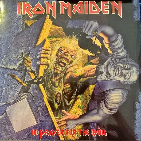 Iron Maiden No Prayer For The Dying Vinyl