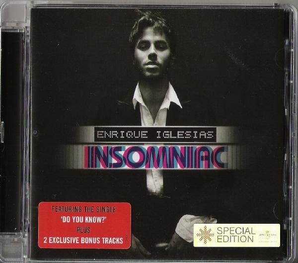 Iglesias, Enrique Insomniac CD