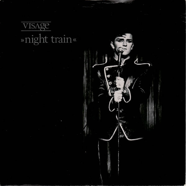 Visage Night Train Vinyl