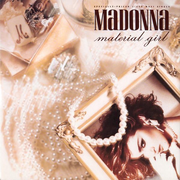 Madonna Material Girl Vinyl