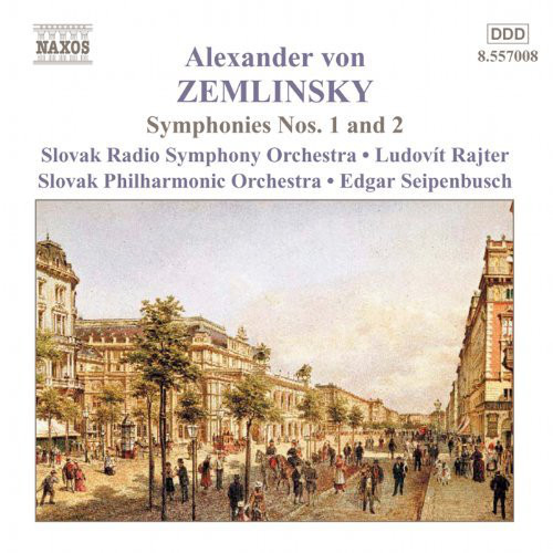 Zemlinsky - Slovak Radio Symphony Orchestra, Ludovit Rajter, Edgar Seipenbusch Symphonies Nos. 1 And 2 Vinyl