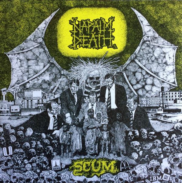 Napalm Death Scum Vinyl