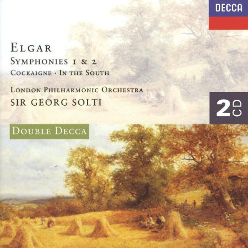 Elgar - The London Philharmonic Orchestra, Georg Solti Symphonies 1 & 2, Cockaigne, In the South Vinyl