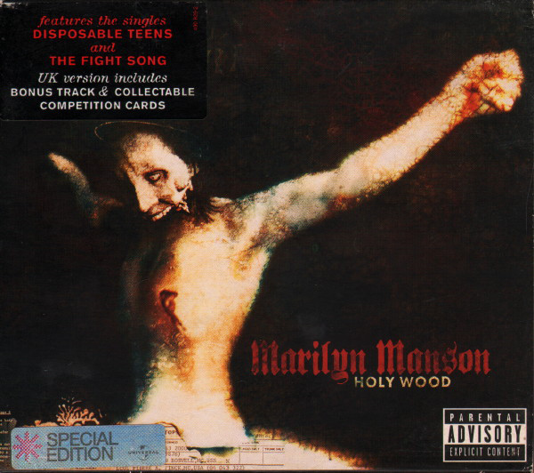 Manson Marilyn Holy Wood Vinyl