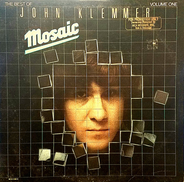 Klemmer, John Mosaic - The Best Of John Klemmer Volume One Vinyl