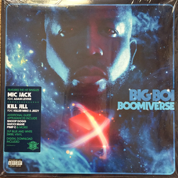 Big Boi  Boomiverse Vinyl