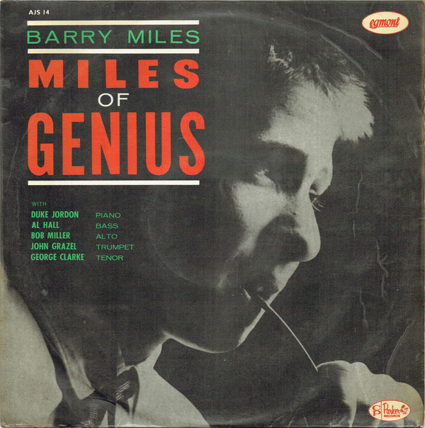 Miles, Barry Miles Of Genius Vinyl