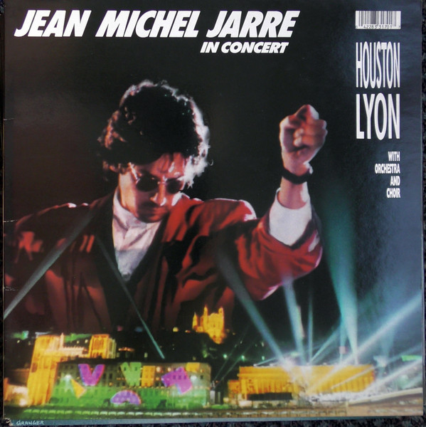 Jean Michel Jarre In Concert Lyon Houston Vinyl