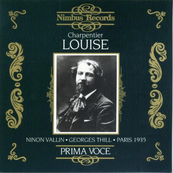 Charpentier - Ninon Vallin, Georges Thill Louise Vinyl