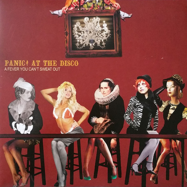 Panic! At The Disco A Fever You Can't Sweat Out Vinyl