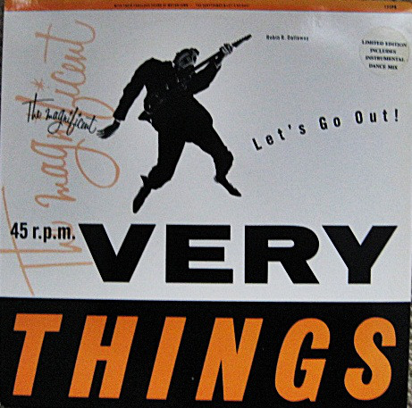 Very Things (The) Let's Go Out! Vinyl