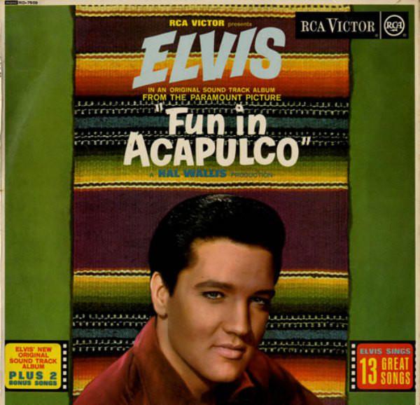 Presley, Elvis Fun In Acapulco Vinyl