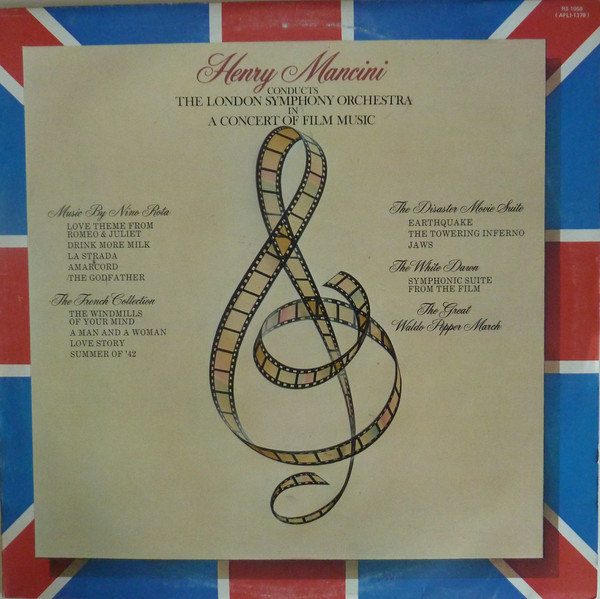 Mancini, Henry In A Concert Of Film Music Vinyl