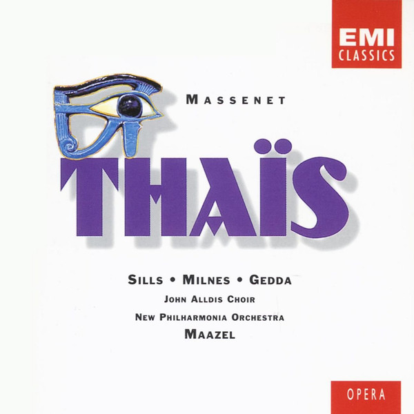 Massenet - Sills, Milnes, Gedda, New Philharmonia Orchestra, Maazel Thais Vinyl