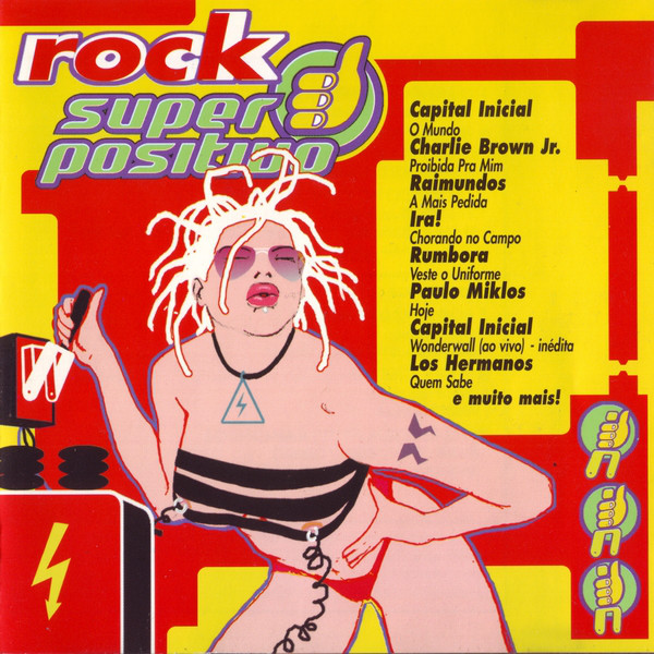 Various Rock Super Positivo CD