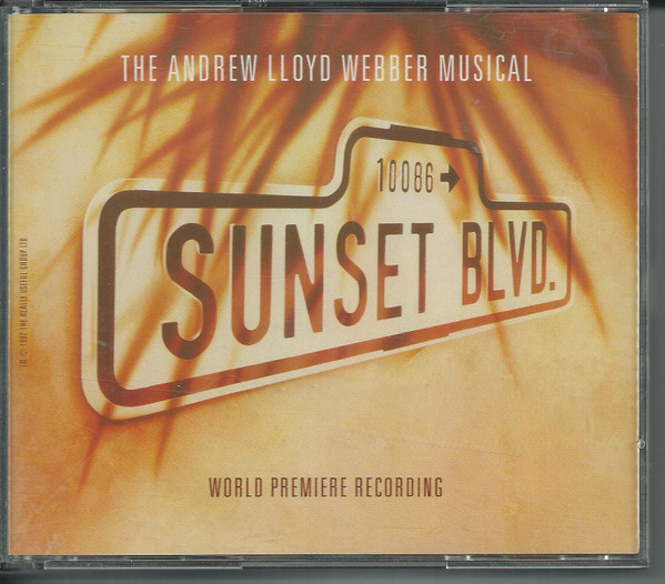 Andrew Lloyd Webber Sunset Boulevard (World Premiere Recording) CD