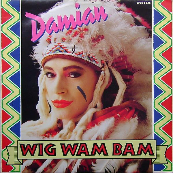 Damian Wig Wam Bam Vinyl
