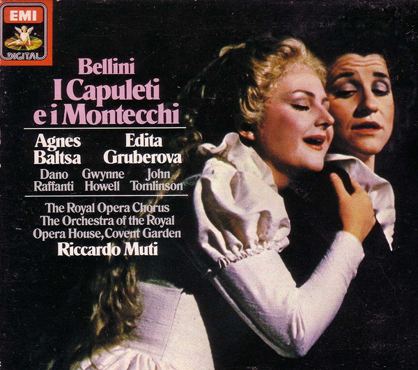 Bellini - Baltsa, Gruberova, Orchestra Of The Royal Opera House, Covent Garden, Riccardo Muti I Capuleti E I Montecchi