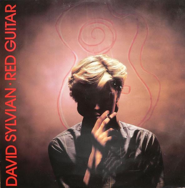 Sylvian David Red Guitar