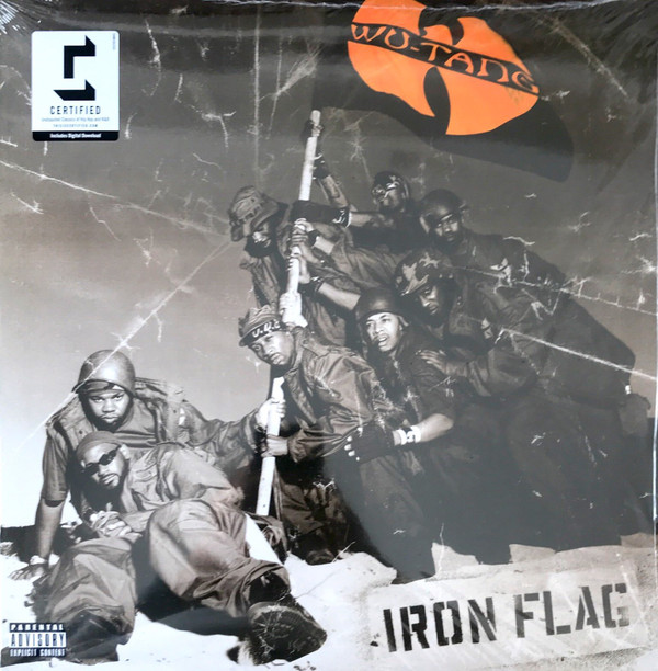 Wu-Tang Clan Iron Flag Vinyl