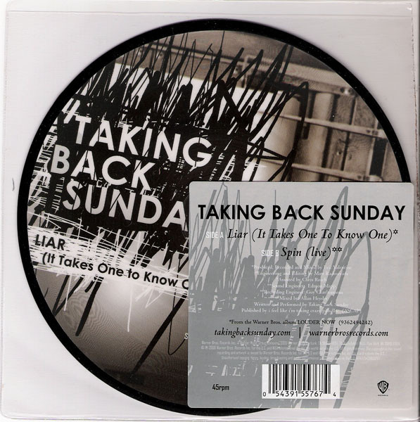 Taking Back Sunday Liar (It Takes One To Know One)