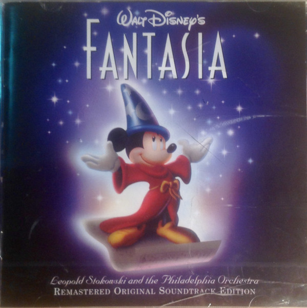 Leopold Stokowski With The Philadelphia Orchestra Walt Disney's Fantasia