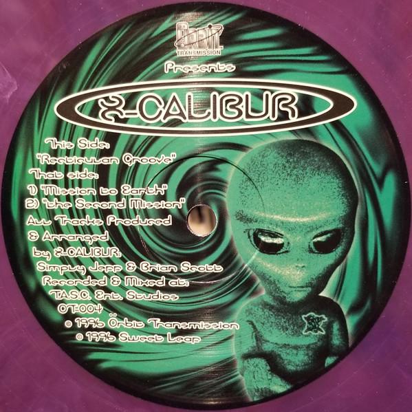 X-Calibur Recticulan Groove Vinyl