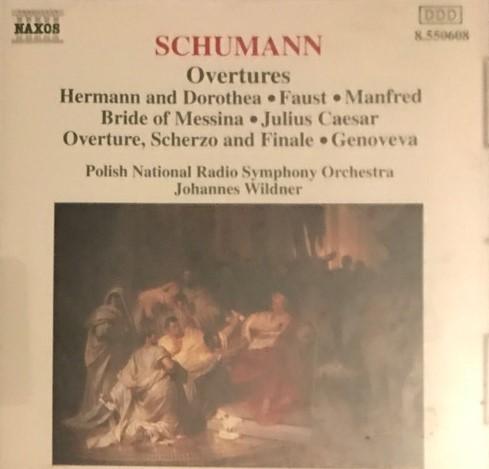 Schumann - Johannes Wildner Overtures Vinyl