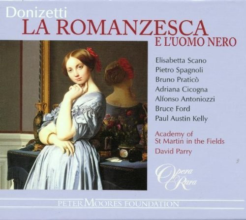 Donizetti - Academy of St Martin in the Fields, David Parry La Romanzesca e L'uomo Nero CD