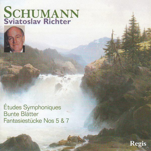 Schumann, Sviatoslav Richter Piano Works (Études Symphoniques; Bunte Blätter; Fantasiestücke Nos 5 & 7) Vinyl