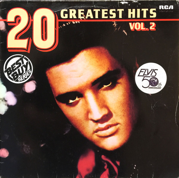 Presley, Elvis 20 Greatest Hits Vol 2 Vinyl