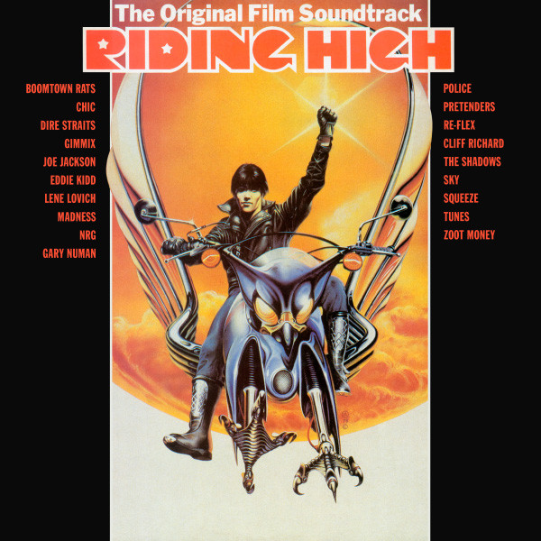 The Original Film Soundtrack Riding High Vinyl