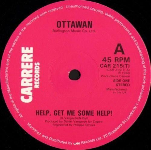 Ottawan Help, Get Me Some Help! Vinyl