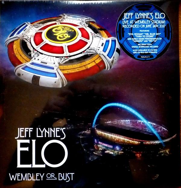 Jeff Lynne's ELO (Electric Light Orchestra) Wembley Or Bust Vinyl