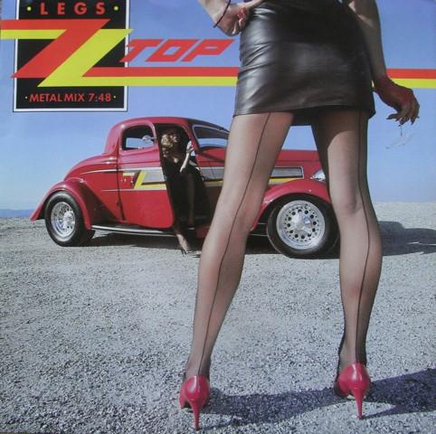 ZZ Top Legs Vinyl