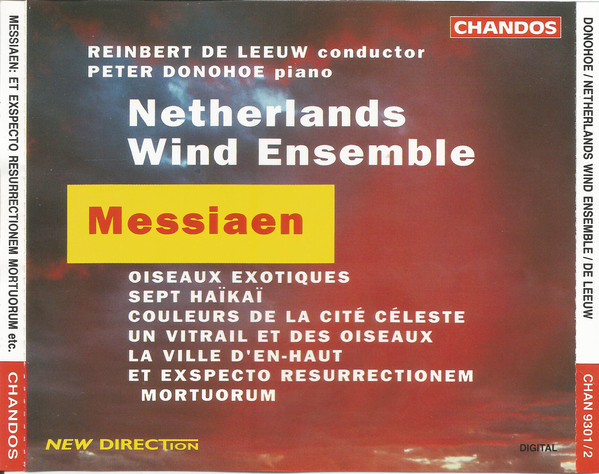 Messiaen - Reinbert de Leeuw, Peter Donohoe Messiaen Vinyl