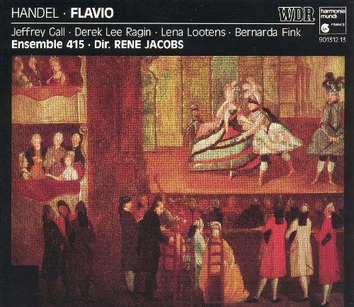 Handel - Jeffrey Gall, Derek Lee Ragin, Lena Lootens, Bernarda Fink, Ensemble 415, René Jacobs Flavio