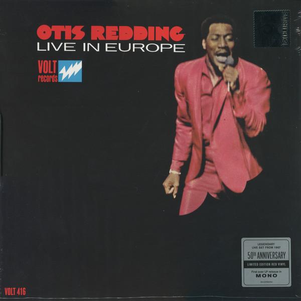 Redding, Otis Live In Europe